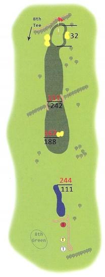 Springwater Golf Course Hole 07