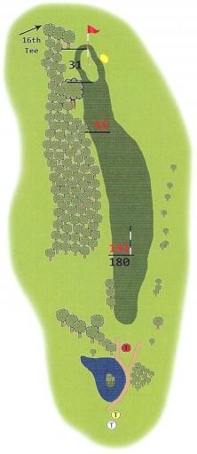 Springwater Golf Course Hole 15