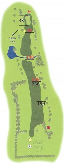 Springwater Golf Course Hole 17
